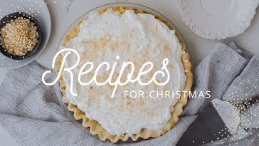 Recipes for Christmas - Christmas template