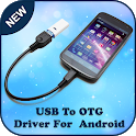 USB Driver for Android : OTG USB icon