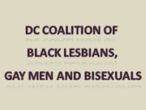 text DC Coalition of Black Lesbians, Gay Men and Bisexuals