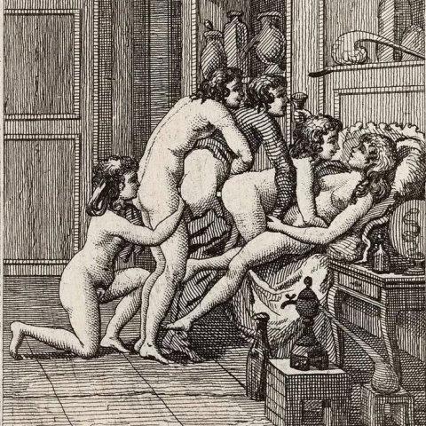 Orgía o sexo en grupo.- Marqués de Sade