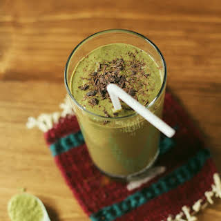 Matcha Chocolate Mint Shake.