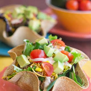 Tex-Mex Taco Salad Bowls.