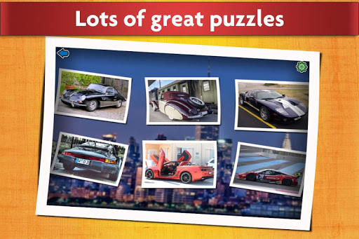 Sports Car Jigsaw Puzzles Game - Kids & Adults ud83cudfceufe0f apkpoly screenshots 2