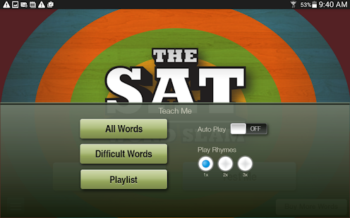 SAT Word Slam- screenshot thumbnail