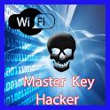 Wifi hacking key simulator icon