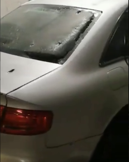 WATCH | Cape Town driver ignores police, speeds off with shot-out tyres and crashes into parking garage - SowetanLIVE