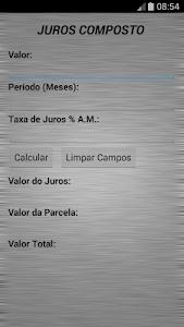 Juros Composto screenshot 0