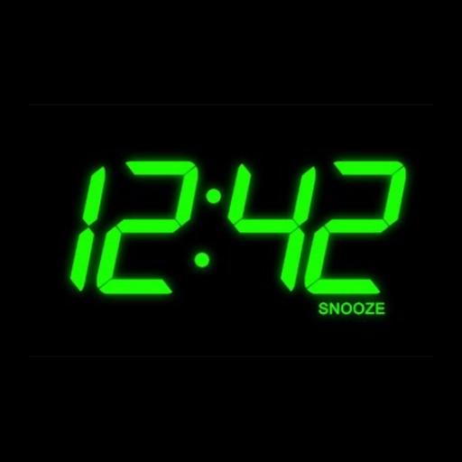 night talking clock Icon