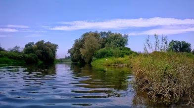 Photo: na wprost Odra, ja się przenoszę na kanał Ulgi