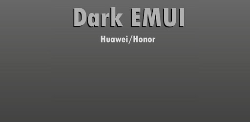 Dark EMUI 9 / 9 1 Theme for Huawei/Honor - Apps on Google Play