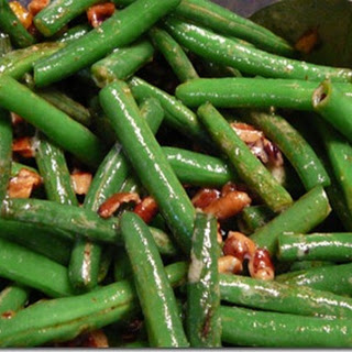 Green Beans with Pecans and Blue Cheese Recipe