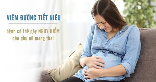 Nhận biết viêm đường tiết niệu khi mang thai