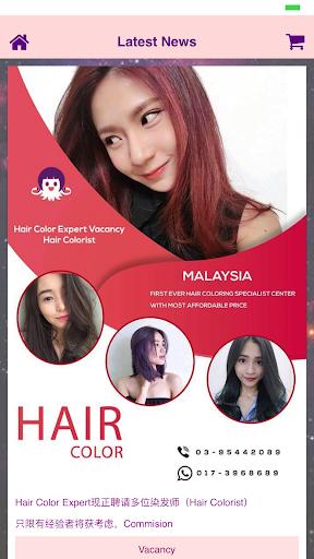 Hair Color Expert screenshot