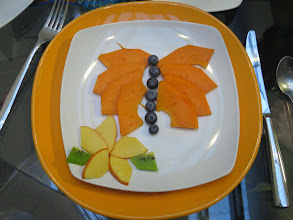 Photo: Fruit was the usual starter while a hot dish was being prepared.