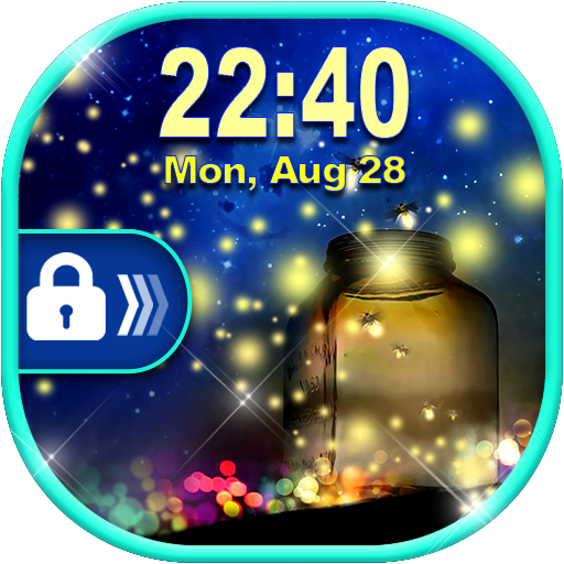 Firefly Lock Screen ✨ Fireflies Live Wallpaper (app)