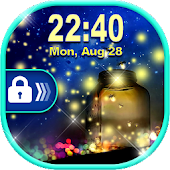 Firefly Lock Screen ✨ Fireflies Live Wallpaper