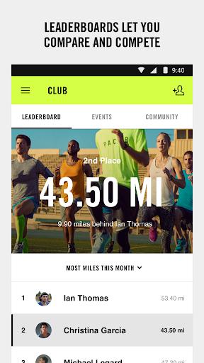 Nike+ Run Club screenshot 4