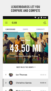Nike+ Run Club Screenshot 4