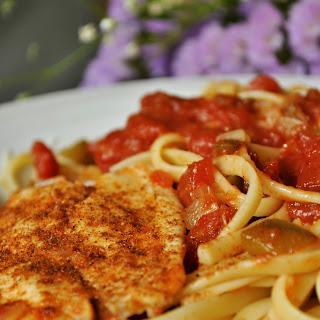 Cajun Tilapia in Tomato Broth