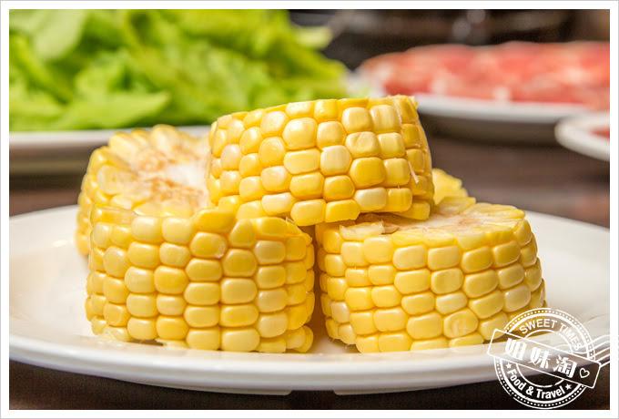 名家汕頭沙茶火鍋菜單玉米
