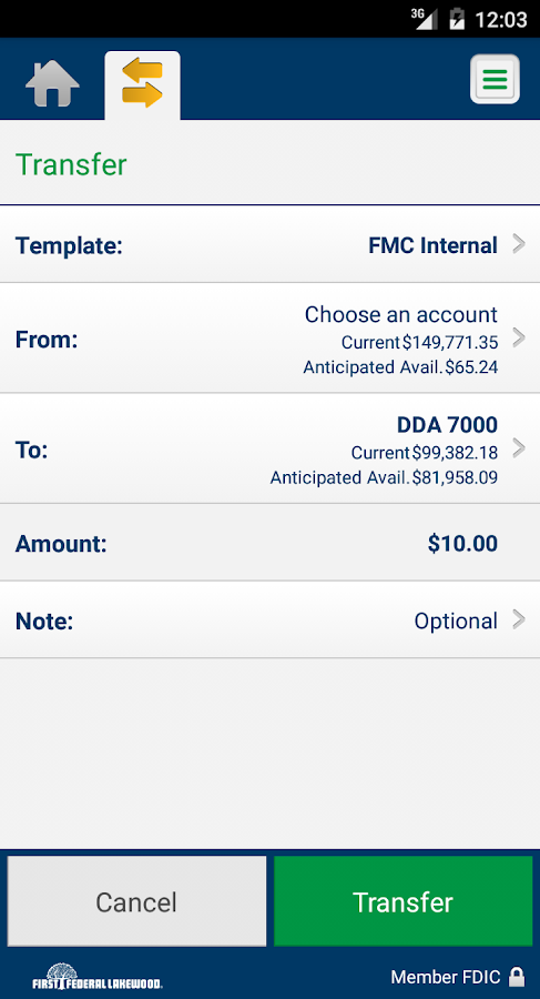 FFL Business Mobile Banking- screenshot