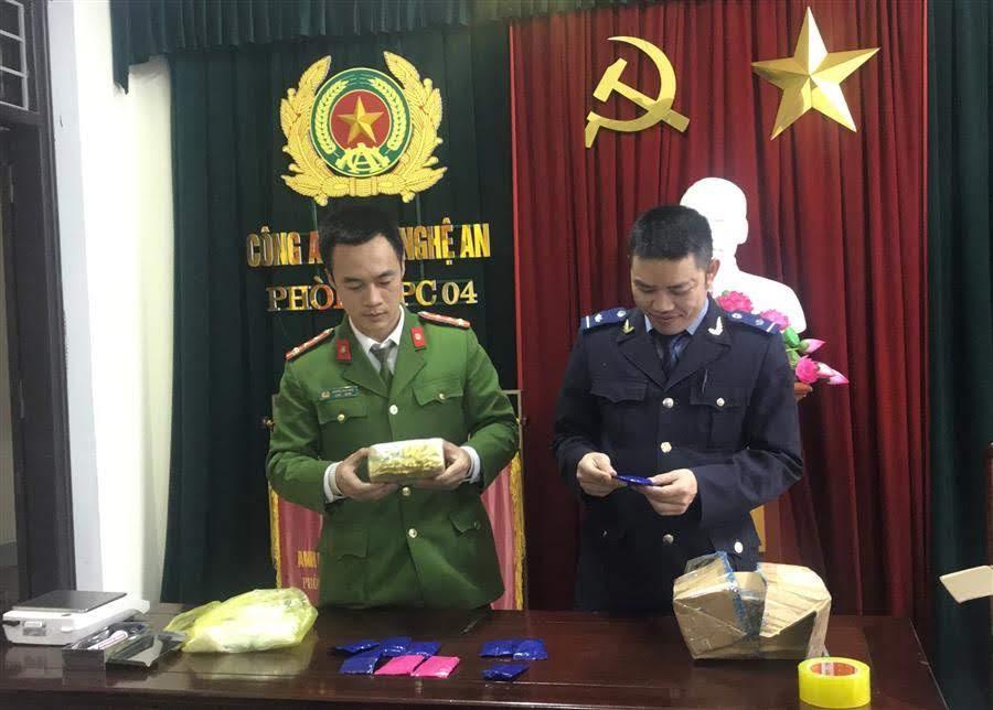 Phòng Cảnh sát ĐTTP về Ma túy phối hợp với Cục Hải quan Nghệ An  mở niêm phong vật chứng vụ án