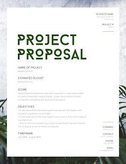 Plant Project - Project Proposal item