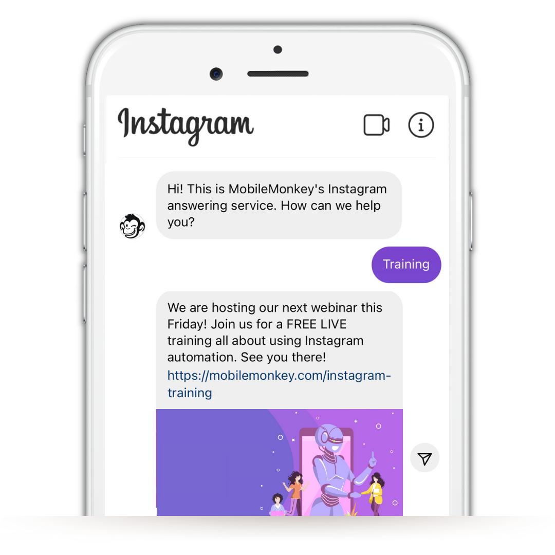 Instagram Quick Replies: InstaChamp