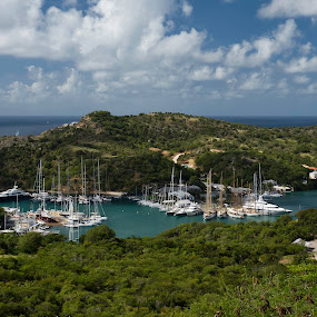 English Harbour - Antigua by Jeffrey Hechter - Landscapes Travel
