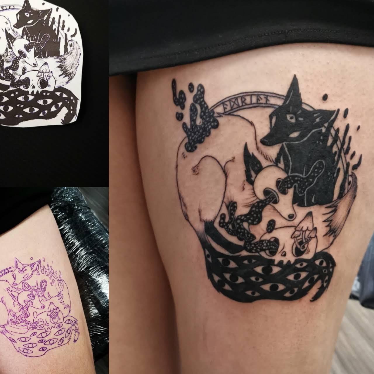 Ink N Roll Grisza Tattoo Studio Tatuażu W Zielona Góra
