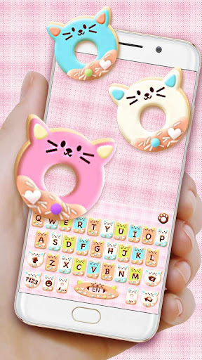 Colorful Donuts Button Keyboard Theme 1.0 screenshots 1