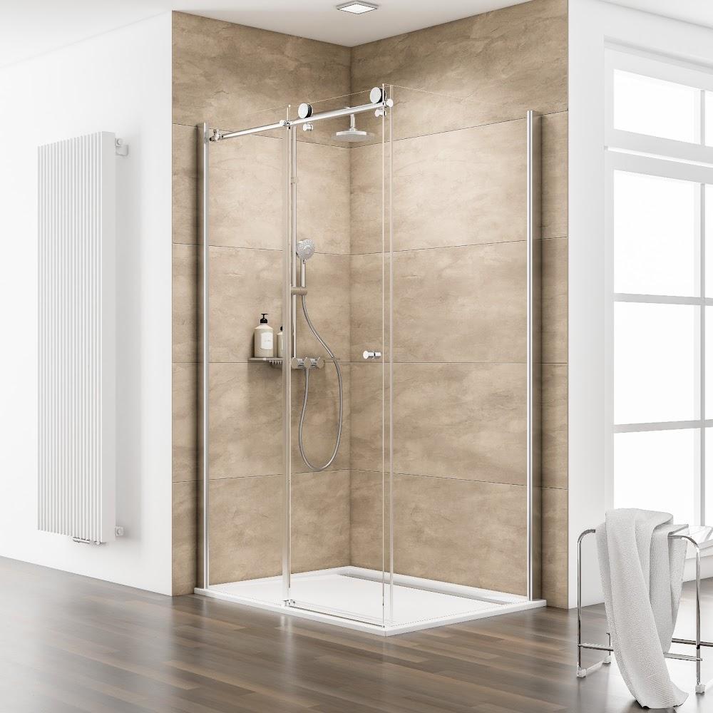 portes et parois de douche  porte de douche coulissante