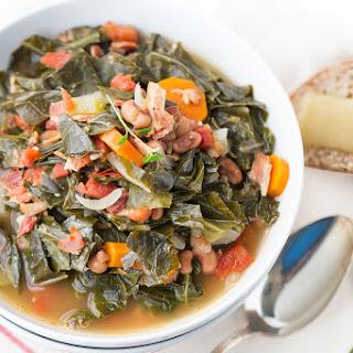 Healthier Southern Collard Soup.
