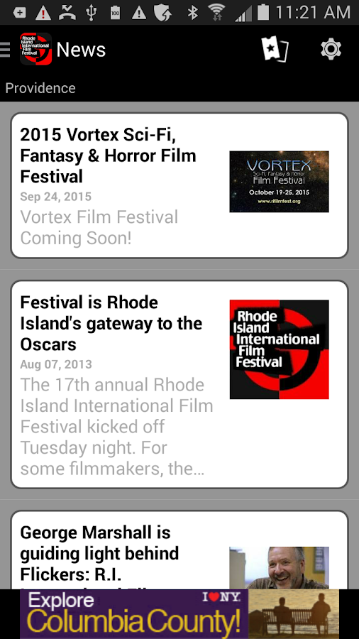 Rhode Island Int'l Film Fest- screenshot