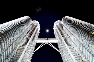 "Photo: *Petronas Towers*  Then they said, ""Come, let us build ourselves a city, with a tower that reaches to the heavens, so that we may make a name for ourselves; otherwise we will be scattered over the face of the whole earth."""