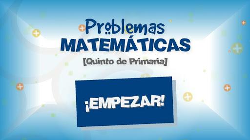 Problemas Matemáticas 5