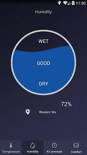 Thermometer - Hygrometer & Ambient Temperature app 2.1 screenshots 2