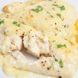 Slow Cooker Fish Au Gratin.