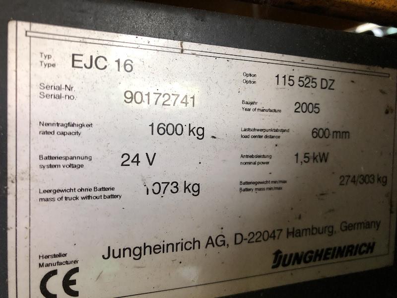 Picture of a JUNGHEINRICH EJC 16