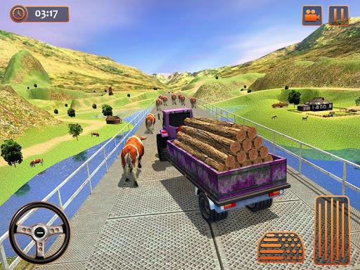 Farm Tractor Cargo Driving Simulator 20 1.5 screenshots 14