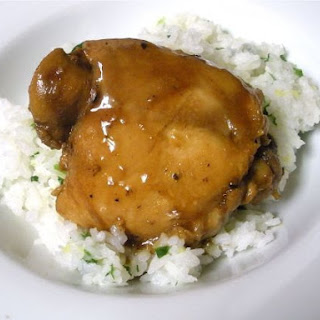 Chicken Adobo & Coconut Ginger Rice