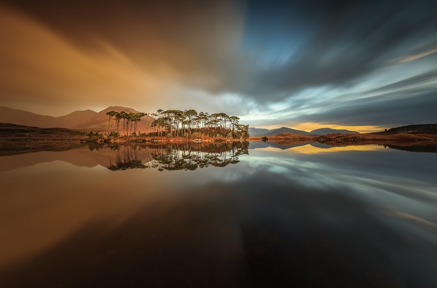 Connemara by Ryszard Lomnicki - Landscapes Cloud Formations (  )