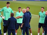 Hoe lang blijft hij nog trainer: Real Madrid-coach Zinedine Zidane bleef na afloop van bekerwedstrijd bijzonder rustig tegen zijn team