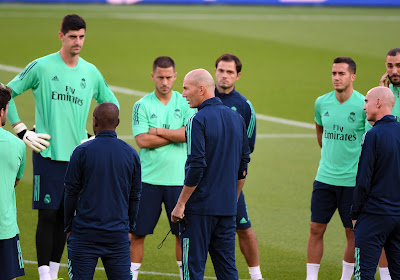 """Zidane heureux des prestations de Thibaut Courtois : """"Ce qu'il fait est phénoménal"""""""