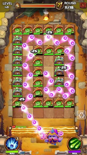 Hero War - Magic vs Monster Bounzy Brick Idle RPG apkdebit screenshots 13
