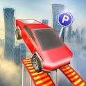 Cybertruck Simulator 2020 : rooftop car stunt icon