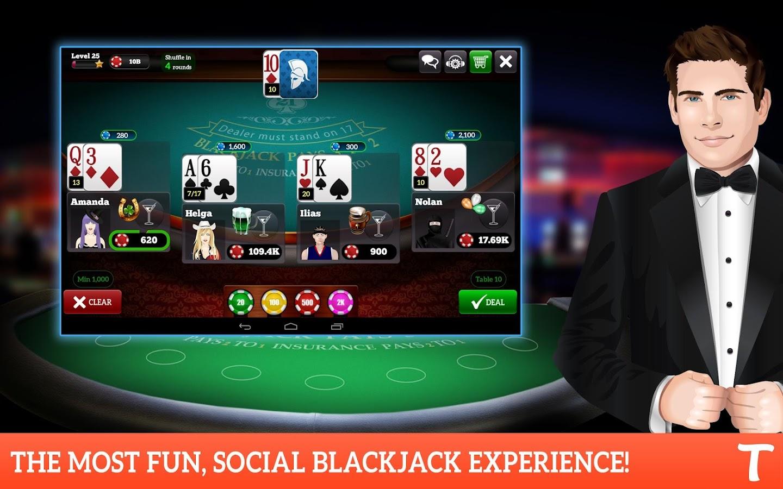BlackJack for Tango- screenshot