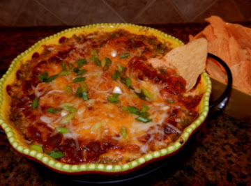 Baked Layered Tex-mex Dip Recipe