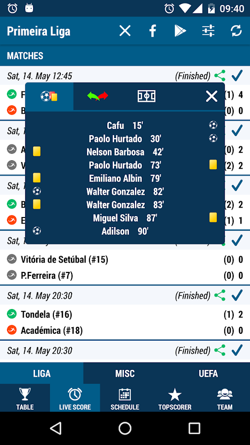 Primeira Liga- screenshot