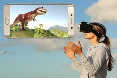 VR Time Machine Dinosaur Park (+ Cardboard) APK screenshot thumbnail 21